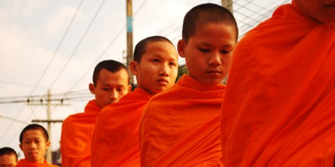 buddhist monks