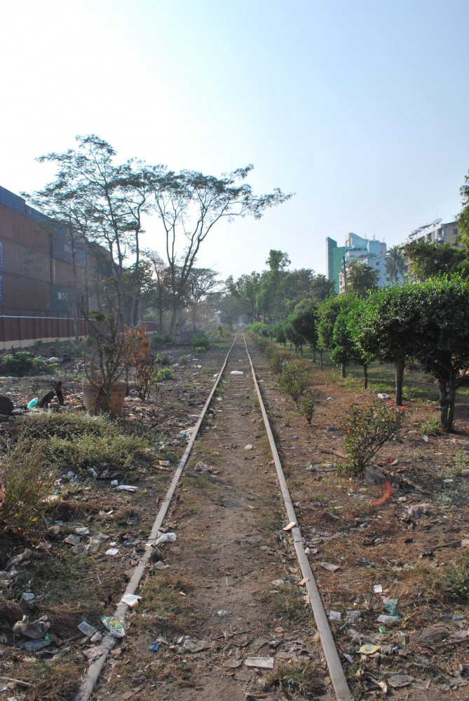 unused railway burma