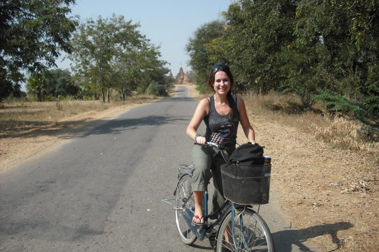 cycling around Bagan