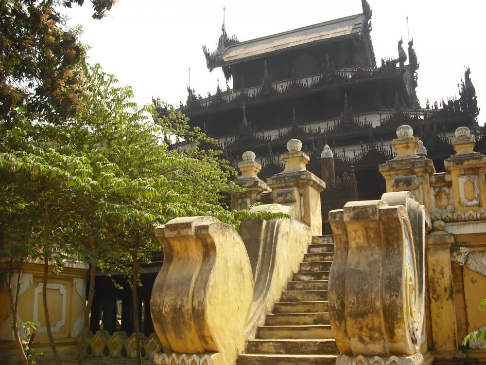 Beautiful Temple Mandalay