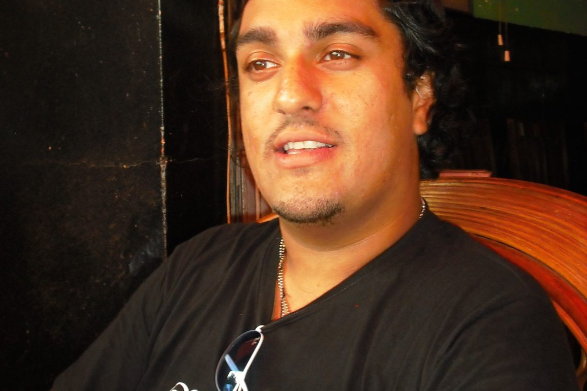 Raj without glasses