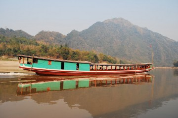 slow boat down the mekong river
