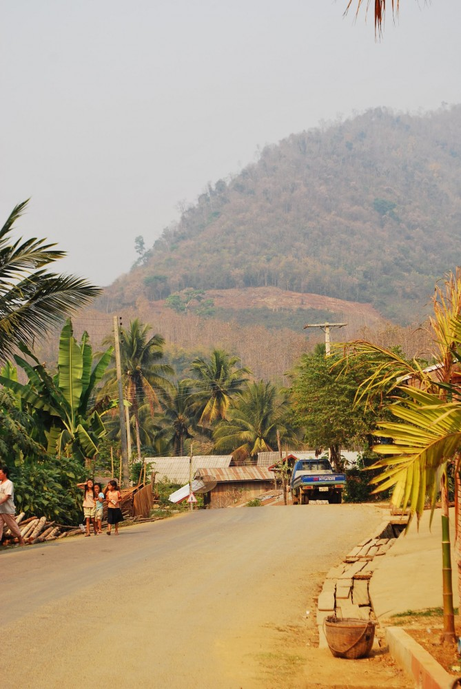 local village laos
