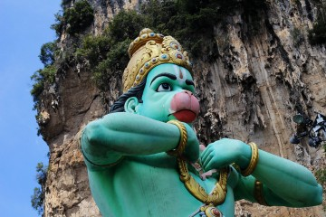 At Batu Caves