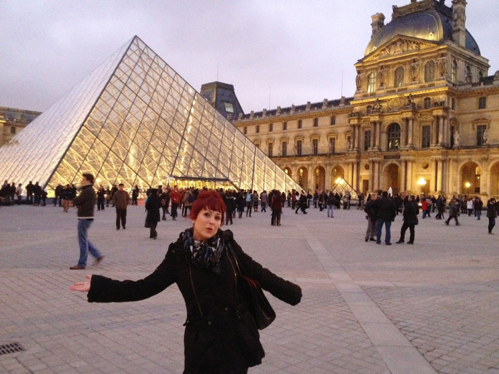 At the Lourve