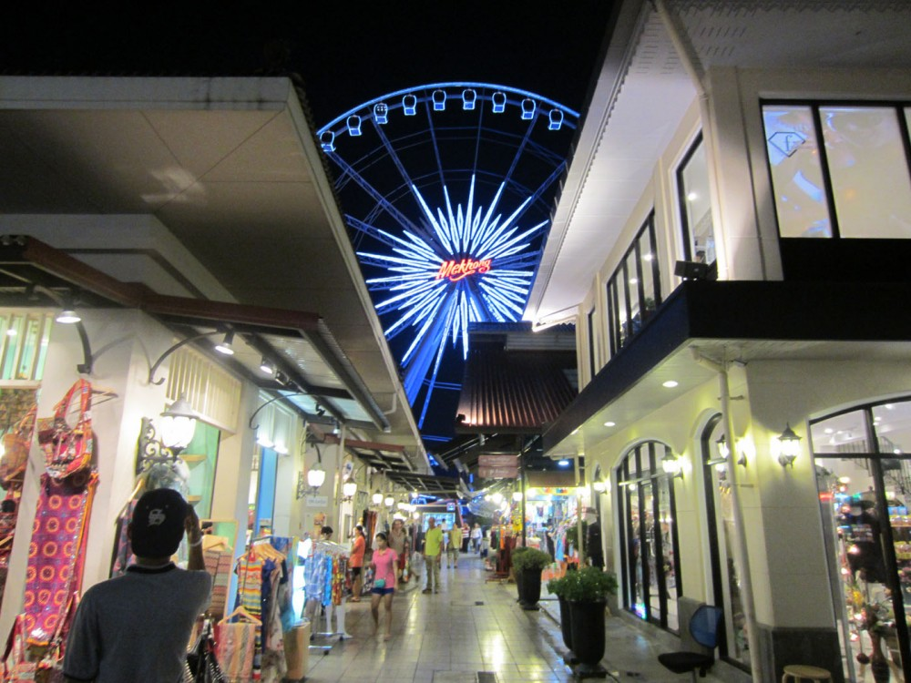 Bangkok shopping Asiatique