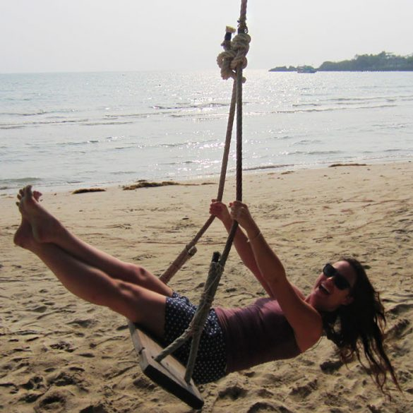 Beach Swinging