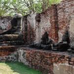 Buddhas missing head in Ayutthaya