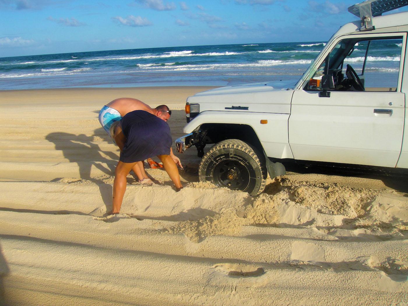 Fraser Island Stuck