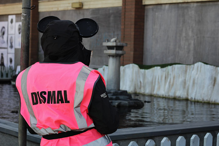 Dismal staff at Dismaland