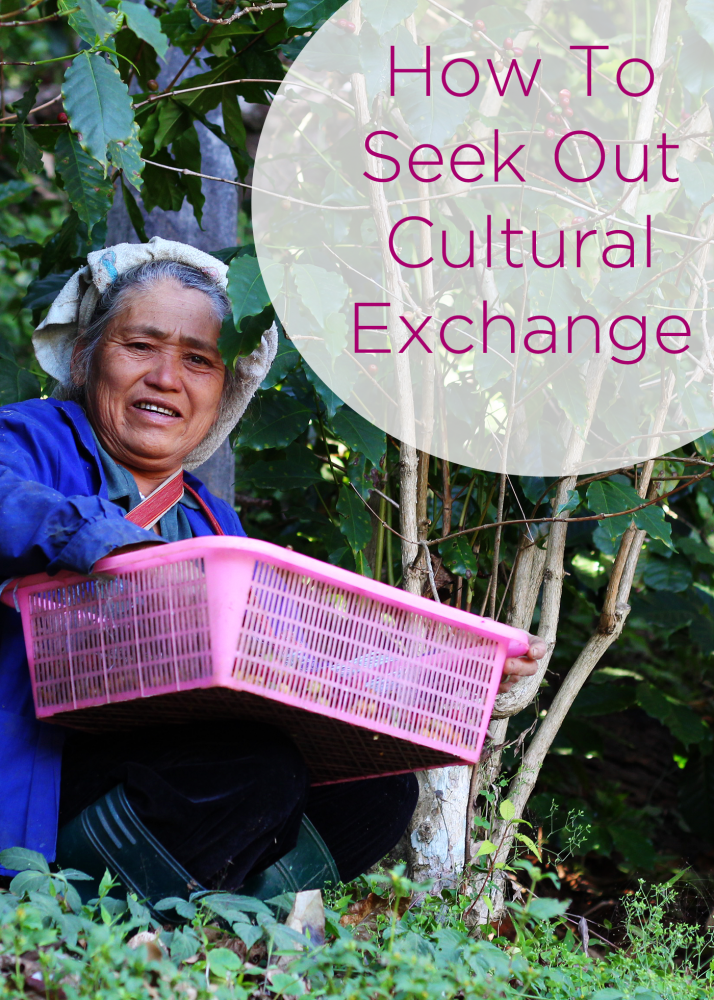 How To Seek Out Cultural Exchange