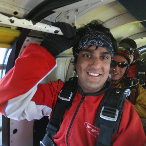 Buff on Skydive