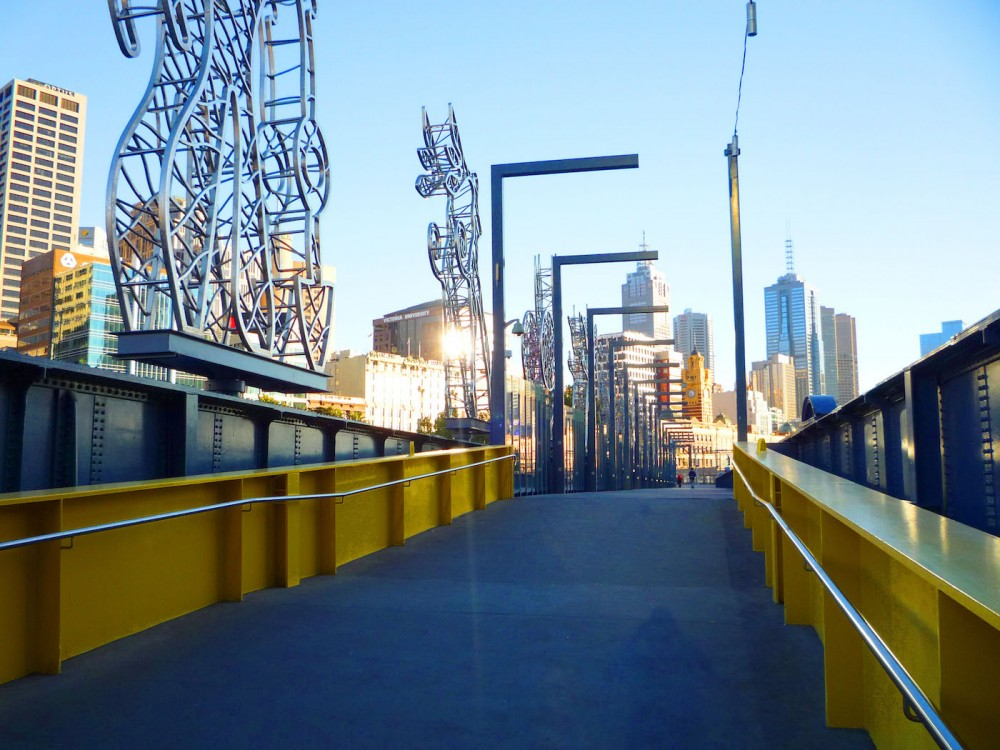 Melbourne Southbank Bridge