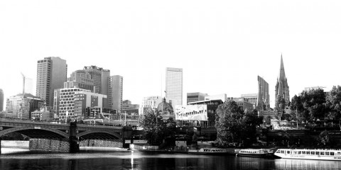 Melbourne Southbank CBD
