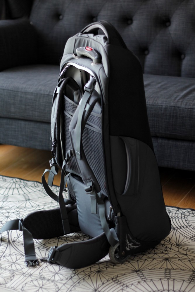 Osprey Sojourn upright back