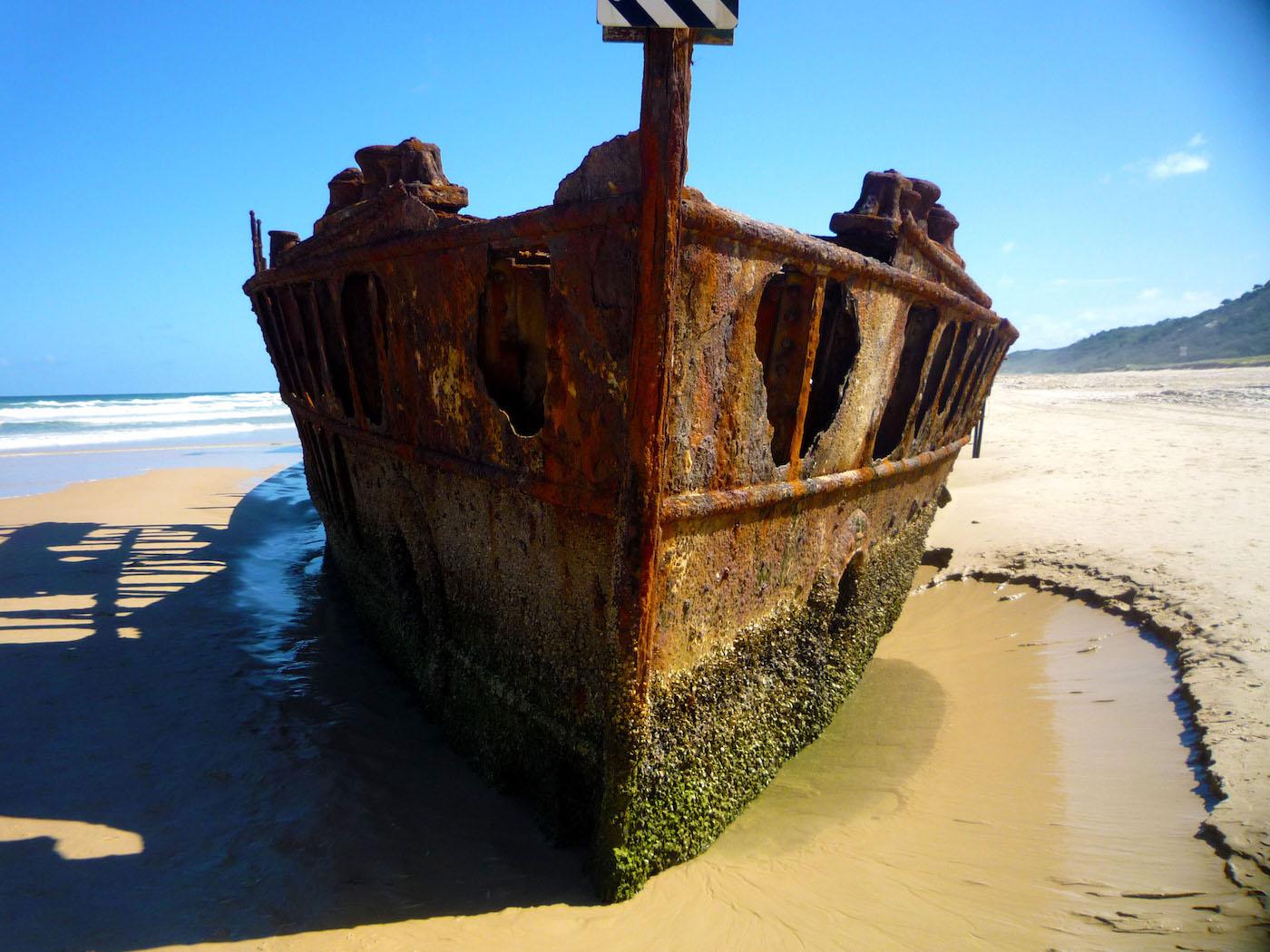 Maheno Fraser Island