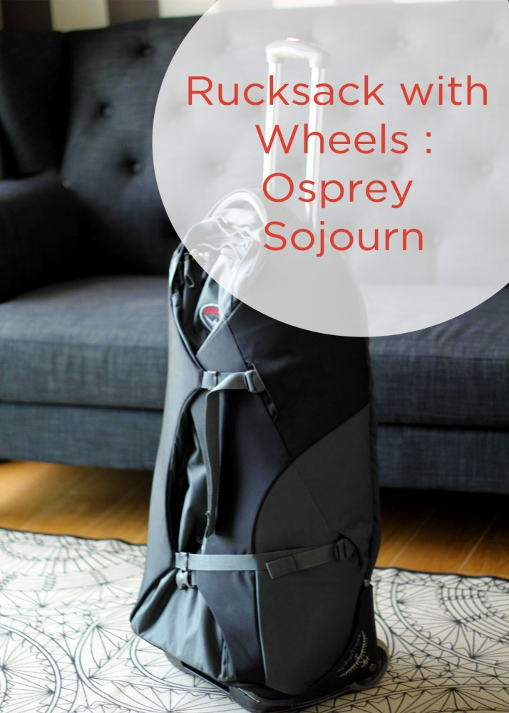 Rucksack with wheels - Osprey Sojourn