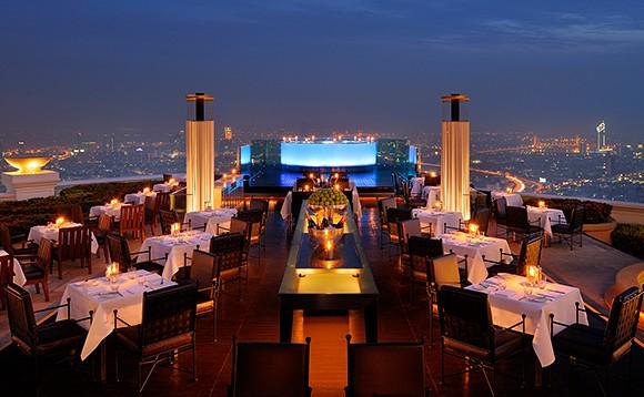 Bangkok Rooftop Bar Scirroco