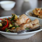 Stir Fried Fish Balls Thai Style