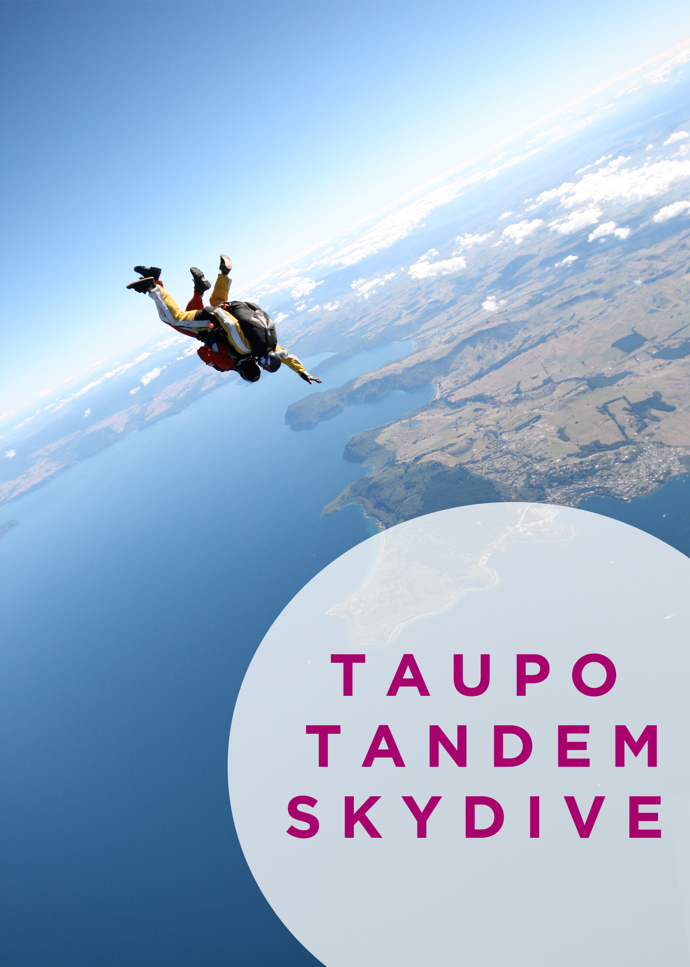 Taupo Tandem Skydive x Awesomewave.net
