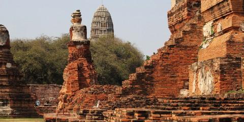 Wat Maha That Ruins Ayutthaya