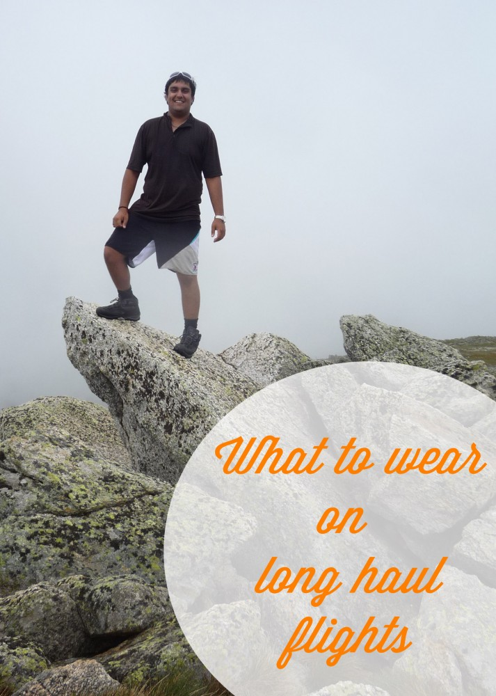 What To Wear On Long Haul Flights For Guys