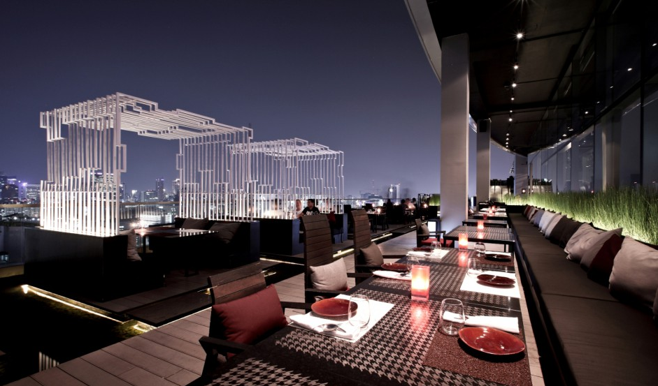 Bangkok Rooftop Bar Zense