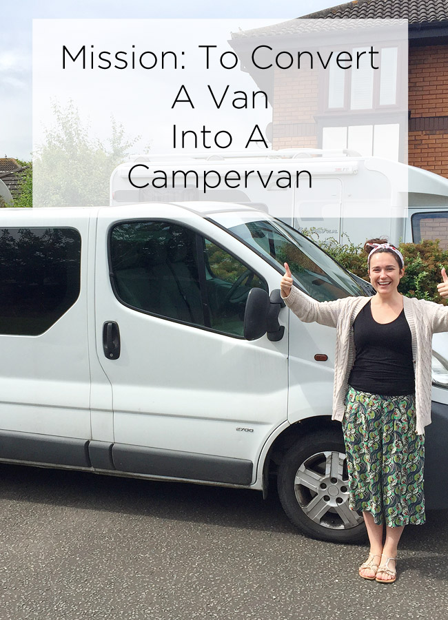 convert a van into a campervan