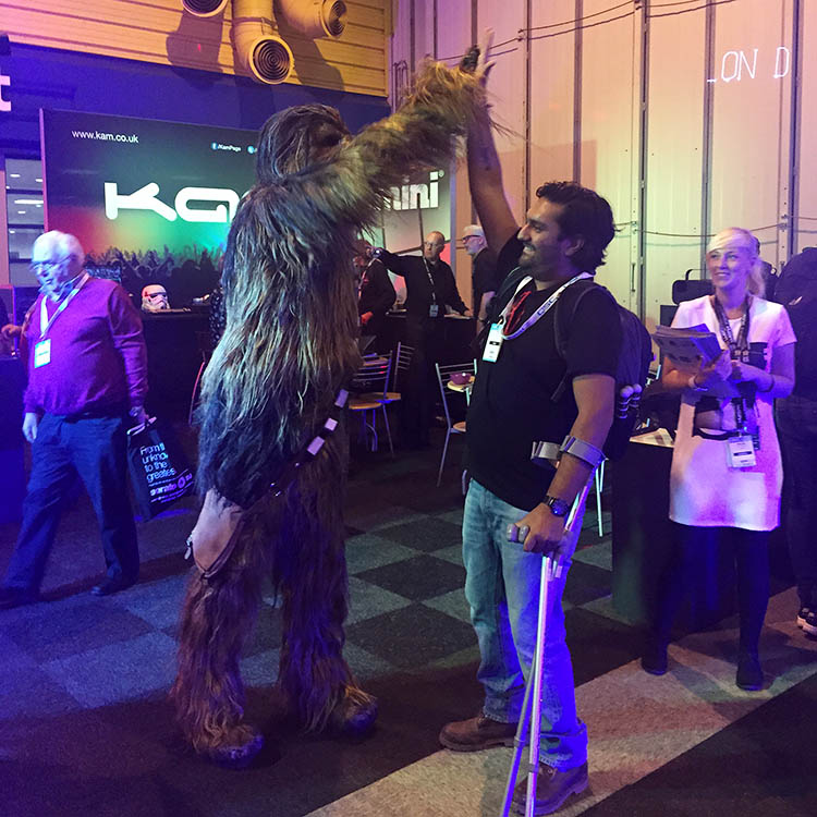 meeting chewbaca