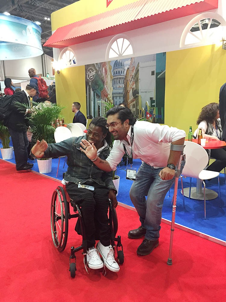 with ade adepitan